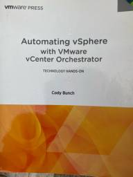 Livro Automating vSphere with VMware vCenter Orchestrator