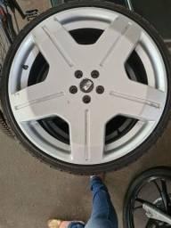 Título do anúncio: Rodas Aro 20 pneus novos