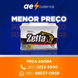 Título do anúncio: Bateria zetta sandero, bateria zetta versa, bateria zetta gol