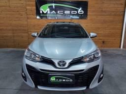 Título do anúncio: toyota yaris hatch xls automático 2020 apenas 18 mil km rodados