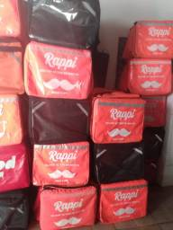 Moto bag com isopor 45 litros entregas