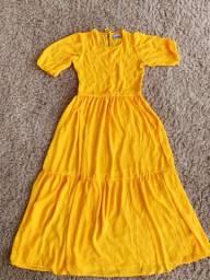 Vestido amarelo PP