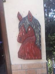 cavalo entalhadas