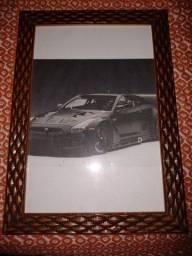 Título do anúncio: Poster de um Nissan gt-r 35