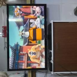 Tv Panasonic 42 polegadas + tv box
