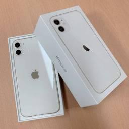 iPhone 11 Branco com tela de 6,1 4G 128gb