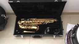 Título do anúncio: Sax Alto Júpter JA500 gold