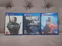 3 Jogos PS4