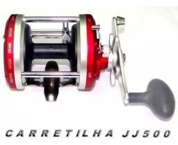 Carretilha Perfil Alto Ottoni Pesca Extra Pesada Jj500 25kg