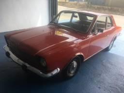Ford Corcel 1976 Luxo Rarrissímo Vermelho (não financio)