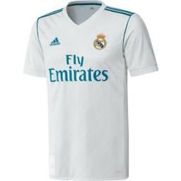 Camisa Adidas Real Madrid 2017 2018 - Ronaldo 7 7d6790630d541