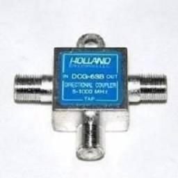 Título do anúncio: TAP de baixa frequencia 5-1000Mhz 6 ou 9dB (P/ TV Digital/TV a cabo)