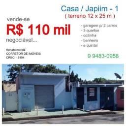 Casa Japiim 1_ R$ 110 Mil Negociável