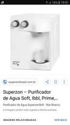 Purificador de água superzon