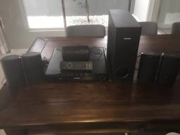 Home Theater 5.1 Phillips HTS3560/78