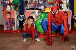 Homem Aranha - Personagem Vivo