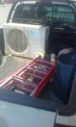 Grande Dirceu promoção da instalação samapi refrigeração