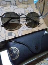 Óculos round ray-ban original