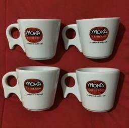 Conjunto de xícaras de chá Moka