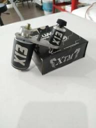 Maquina de tatuar X13 Xop Machine + pedal de caveira NOVA garantia de um ano
