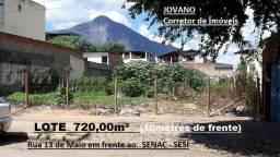(R$840.000) Lote c/ 720m² na Rua 13 de Maio em frente ao Senac - Sesi / Vila Bretas