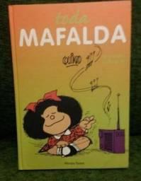 Livro toda Mafalda novo