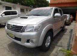 Toyota Hilux srv cd 3.0 4x4 automática diesel 2011/2012 prata - 2012
