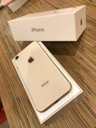 Iphone 8 64gb Gold Seminovo na caixa