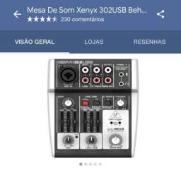 Mesa de som Xenyx 302USB