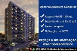 CB Não Perca, Reserva Atlântica Candeias, saia do aluguel. R$ 165mil Use seu FGTS