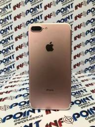 Oportunidade iPhone 7 Plus 32GB Rosa - seminovo - aceito iPhone na troca - Loja Centro