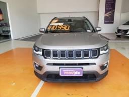Automatico! Jeep Compass Longitude 2019 + Couro!!