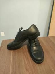 Sapato social ideal p. colégio militar