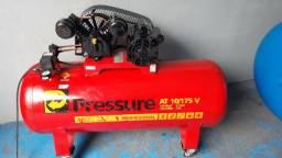 Compressor de Ar 10 pés 175litros 145psi