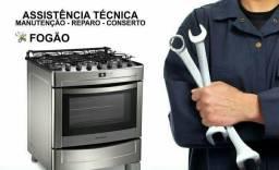 Conserto de fogões em geral.