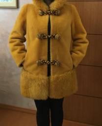 Casaco de lã de carneiro