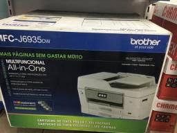 Usado, Multifuncional brother - impressora e xerox jato de tinta A3 comprar usado  Volta Redonda
