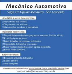 Vaga para mecânico - São Leopoldo