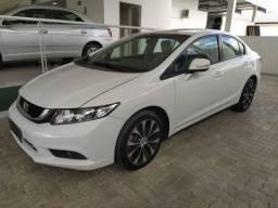 Honda Civic LXR 15-16 - Com 4 PNEUS NOVOS - câmbio automático