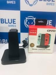 Carregador Joy-can/ Square para Nintendo Switch