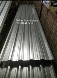 Título do anúncio: Zap Telhas - Preço e Qualidade - Telhas Galvanizadas, perfil 75x40, 100x40 - ZP 97178.1130