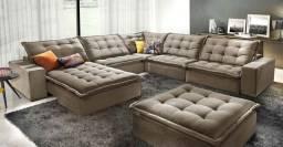 Sofá hiper conforto( cinco anos de garantia)