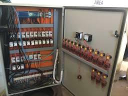 Painel industrial elétrico