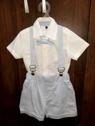 Roupa de Batizado Menino 60,00