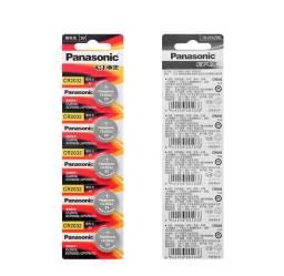 Bateria Panasonic CR2032 lítio 3v 150mAh original preços especiais atacado