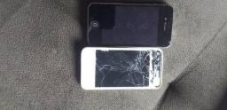 2 iphones 4