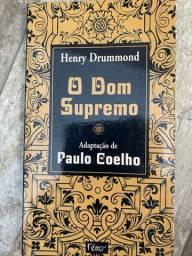 Livro O Dom Supremo - Paulo Coelho