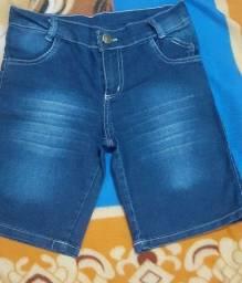 Título do anúncio: Bermuda jeans infantil 12 anos masculina