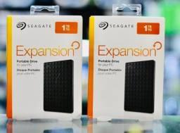 HD Externo 1TB Seagate Portátil Original