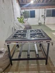 Título do anúncio: Fogão Industrial 4 Bocas Progás<br>Novo